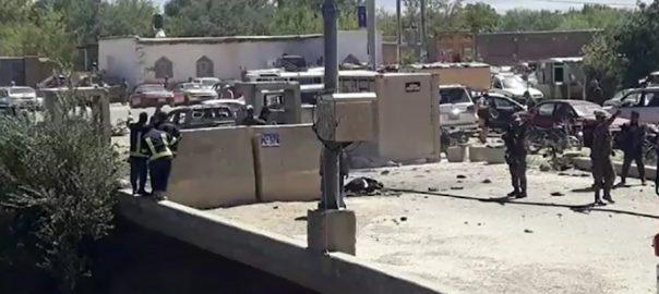 افغانستان ، صوبے ، پروان ، صدر ، اشرف غنی ، جلسے ، دھماکا، چوبیس ، افراد ، ہلاک