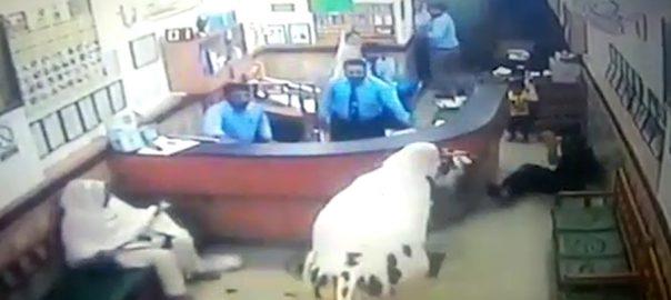 راولپنڈی بیل لیب کھڑیاں  دروازے  شیشے توڑ ڈالے  92 نیوز