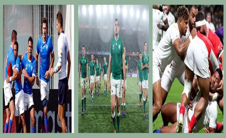رگبی ورلڈ کپ ، آئر لینڈ ، انگلینڈ اور اٹلی نے اپنے میچز جیت لئے