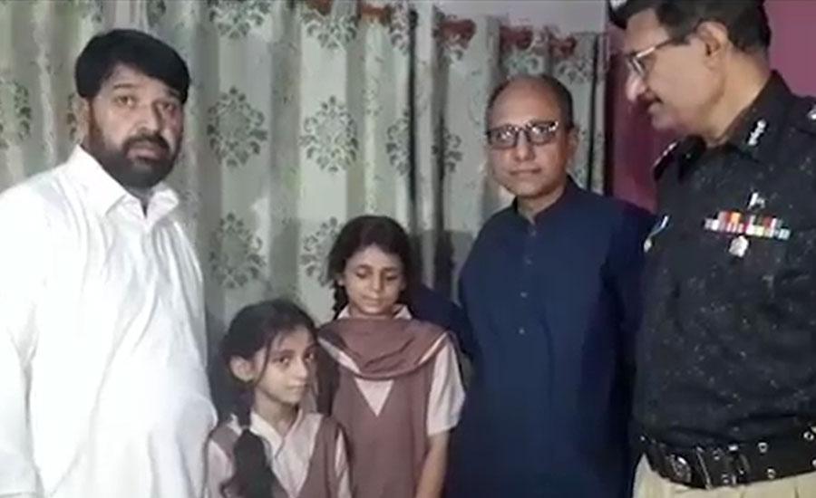 سعید غنی کی شہید ڈی ایس پی قاسم غوری کی رہائش گاہ آمد،فاتحہ خوانی