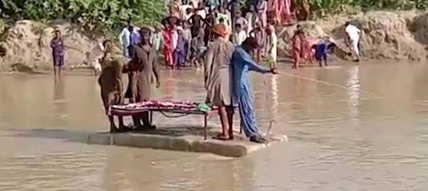 سجاول  نہر پل کراچی  92 نیوز  وزیر اعلیٰ سندھ  سید مراد علی شاہ 