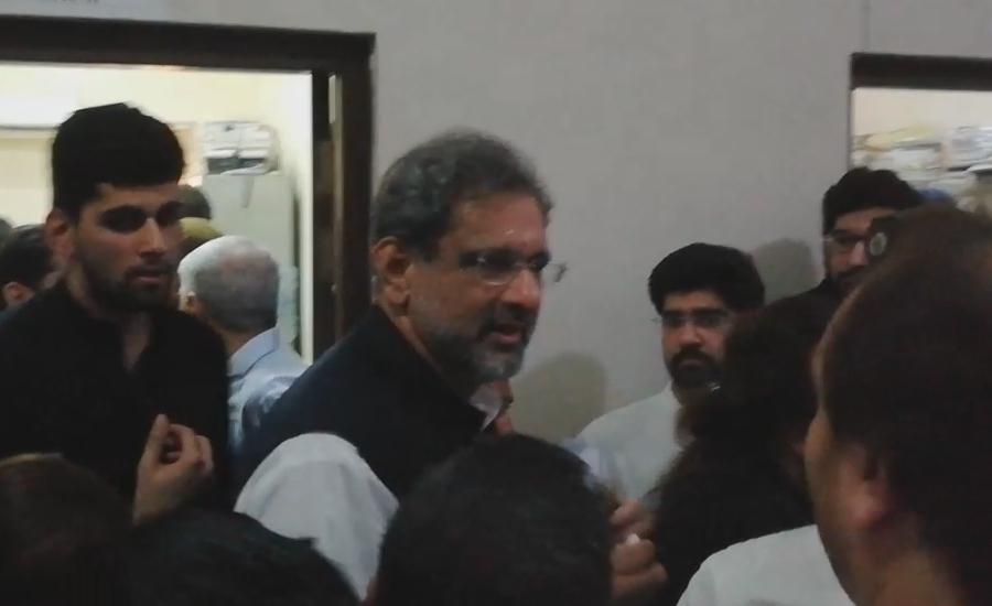 شاہد خاقان عباسی بھی جیل سے اسپتال منتقل
