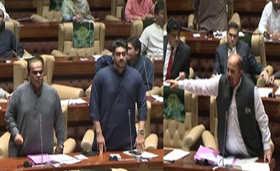 سندھ اسمبلی کے اجلاس میں حکومت اور اپوزیشن میں تلخ کلامی، ارکان نے ایک دوسرے کو نااہل قرار دیا