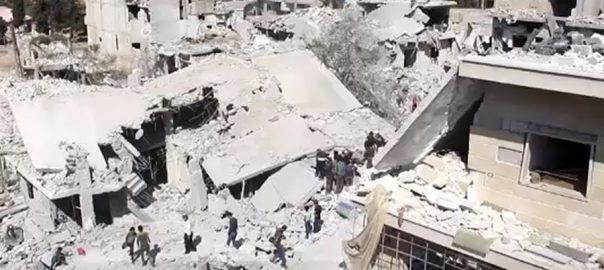 امریکی فورسز شام شمال مغربی علاقے 40افراد ہلاک