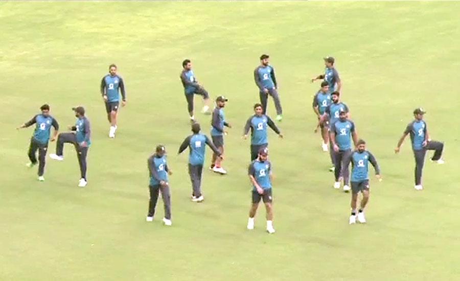 دوسرا ون ڈے، پاک سری لنکا کرکٹ ٹیموں کی نیٹ پریکٹس
