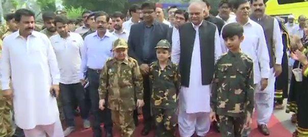 لاہور ، یوم دفاع پاکستان ، موقع ، ٹاؤن ہال ، پرچم کشائی ، تقریب