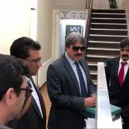 جج ویڈیو سکینڈل کیس ، ناصر بٹ، پاکستانی ہائی کمیشن، پیش لندن،92 نیوز