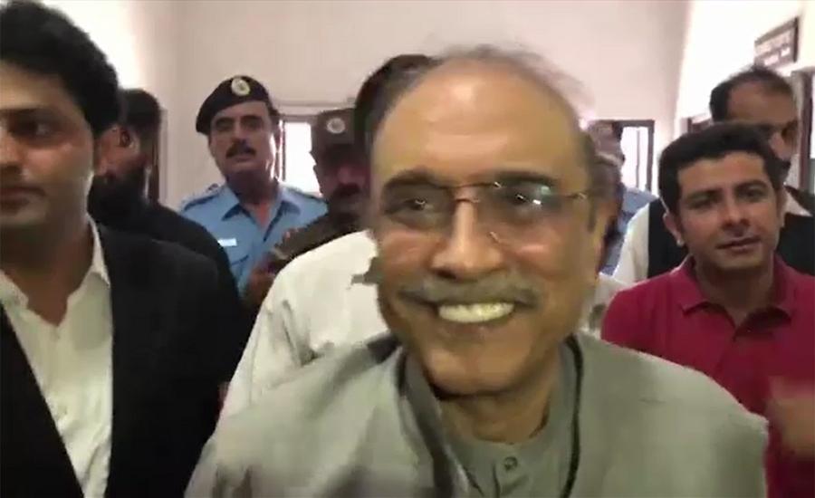 آصف زرداری سے اڈیالہ جیل میں بختاور بھٹو اور پارٹی رہنماؤں کی ملاقات