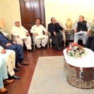 سیاسی بحران، مختلف رہنماؤں، چودھری شجاعت، ملاقاتیں، لاہور، 92 نیوز