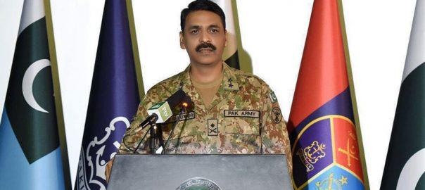بھارتی آرمی چیف ،غیر ذمہ دارانہ بیانات، جنگ ، اکسارہے ہیں، ڈی جی آیس ایس پی آر، ٹویٹ، راولپنڈی، 92 نیوز