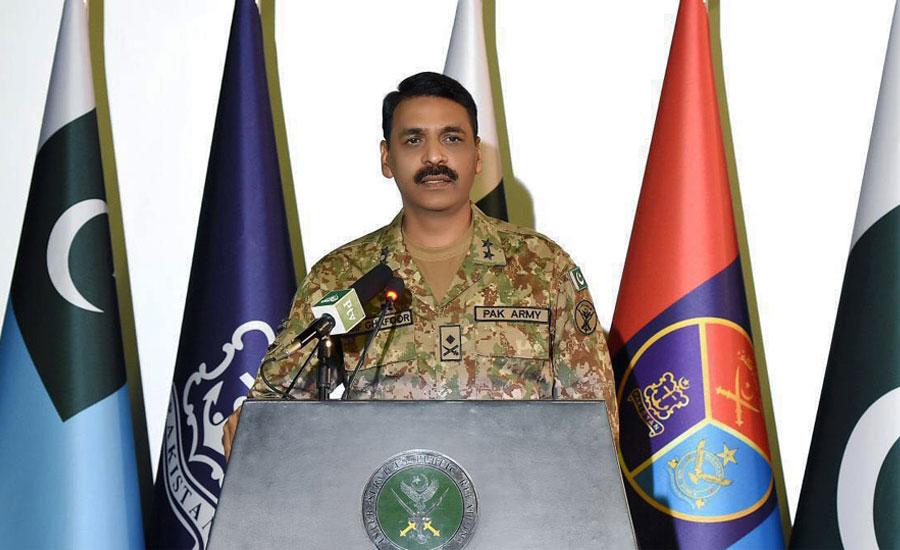 بھارتی آرمی چیف غیر ذمہ دارانہ بیانات سے جنگ پر اکسا رہے ہیں، ڈی جی آیس ایس پی آر