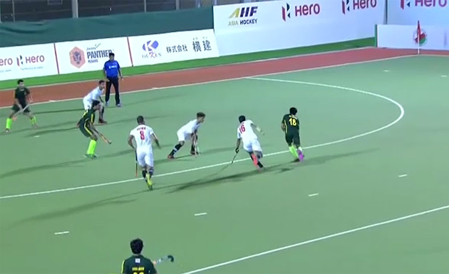 پاکستان ڈویلپمنٹ اسکواڈ نے ہاکی سیریز کے پہلے میچ میں عمان کو 0-7 سے شکست دے دی