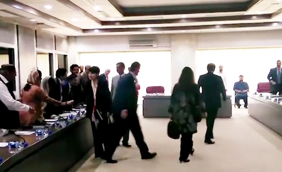 آئی ایم ایف وفد اور ایف بی آر کے درمیان مذاکرات کاپہلا دور شروع