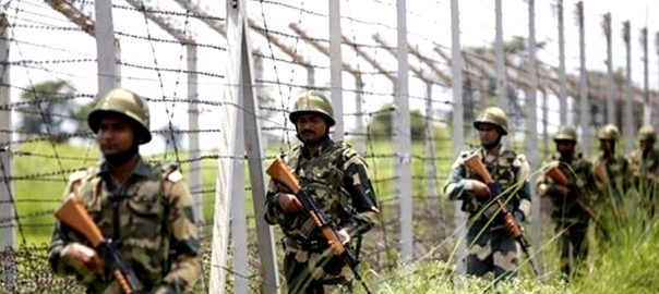 دفاعی تعمیرات بھارتی فوج زرعی اراضی سرینگر 92 نیوز مقبوضہ کشمیر سرحدی علاقے