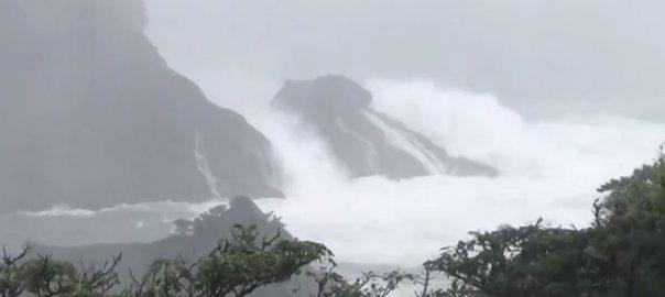 جاپان ، 60 سالہ ، تاریخ ، خطرناک ، طوفان ، سامنا