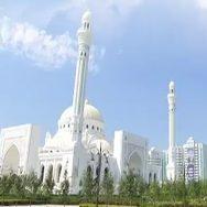 چیچنیا  دیدہ زیب مسجد عوامی توجہ کا مرکز 92 نیوز روس  شالی  پرائڈ آف مسلم  مسلمانوں کا فخر  رات کے وقت  یورپ کی سب سے بڑی مسجد 