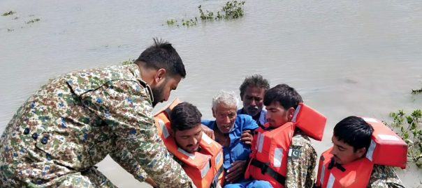 پاک بحریہ  کیار  ٹھٹھہ  سجاول  ریسکیو آپریشن کراچی  92 نیوز