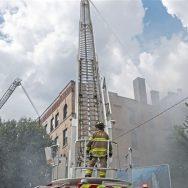 آک لینڈ  کنونشن سنٹر  آتشزدگی دو افراد جھلس گئے  92 نیوز