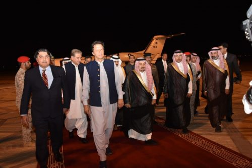 وزیراعظم ، عمران خان ، مصالحتی مشن، دورے ، سعودی عرب
