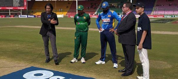 پاکستان اور سری لنکا  کراچی  92 نیوز  سرفراز الیون  تیسرا ون ڈے 