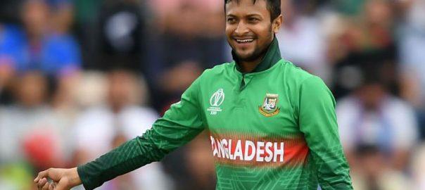 بنگلہ دیش ، کرکٹ ، ٹیم ، کپتان ، شکیب الحسن ، دوسال ، پابندی