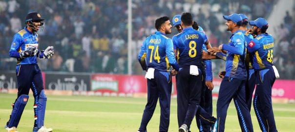 سری لنکا ، پاکستان ، 13 رنز ، شکست