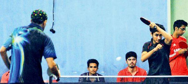 پاکستان کریٹیو ماﺅنٹیسوری، ڈویژنل ٹیبل ٹینس، چیمپئن شپ ،آغاز،ایبٹ آباد، 92 نیوز