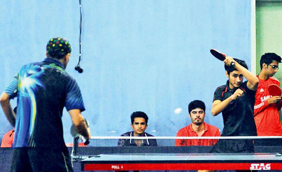 پاکستان کریٹیو ماﺅنٹیسوری ڈویژنل ٹیبل ٹینس چیمپئن شپ کا آغاز