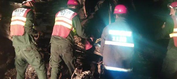 میانوالی  ٹریلر  ایمبولینس  9افراد جاں بحق 92 نیوز