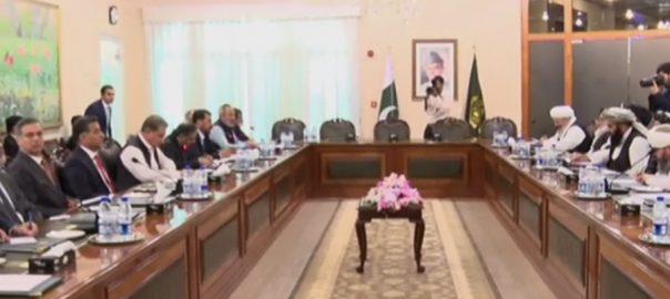 افغان طالبان  افغان طالبان وفد  وزیر خارجہ افغان امن عمل اسلام آباد  92 نیوز شاہ محمود قریشی