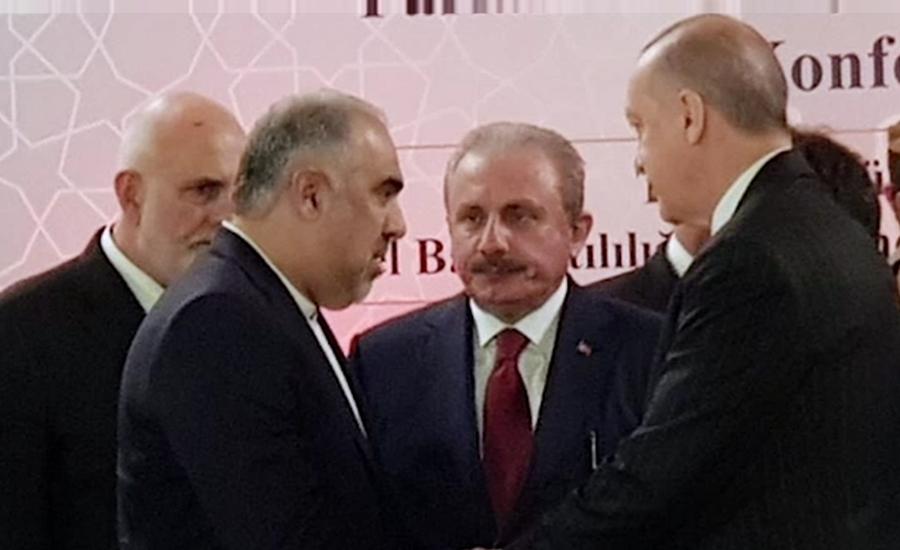 اسپیکر قومی اسمبلی کی ترک صدر سے ملاقات، مسئلہ کشمیر پر گفتگو
