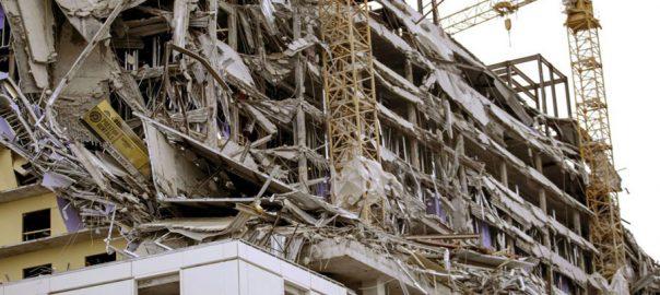 امریکا، زیر تعمیر ہوٹل، حصہ منہدم، ایک شخص ہلاک، 18 زخمی ، نیواورلینز، 92 نیوز