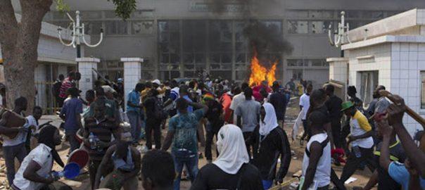 بُرکینا فاسو، دہشت گردوں، حملے،16 افراد ہلاک، اوگادوگو، 92 نیوز