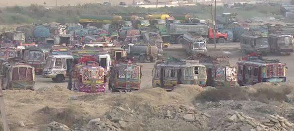 کراچی ، بھتہ خور ، سرگرم، بھتہ ، رقم ، ٹرانسپورٹر ، کاروبار