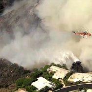 کیلیفورنیا آگ بھڑک اٹھی 92 نیوز امریکی ریاست  جنوبی کیلیفورنیا  امریکی میڈیا 