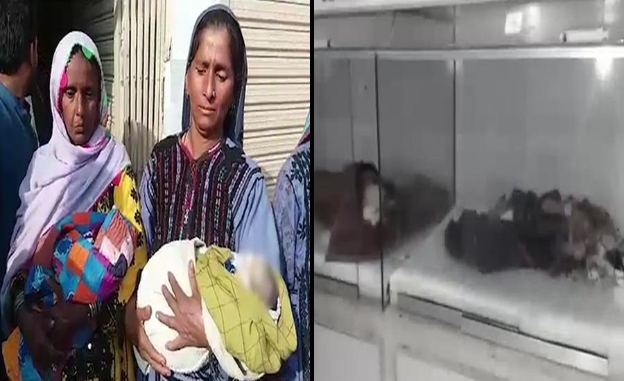 حافظ آباد ،ٹھل کے اسپتالوں میں انتظامیہ کی غفلت سے 8 بچے جاں بحق