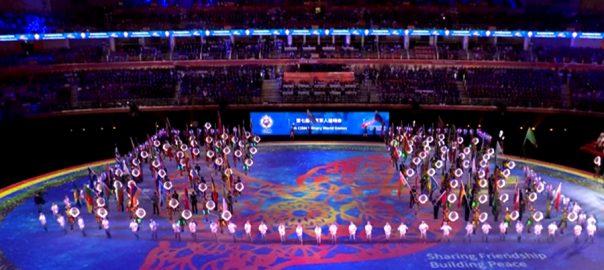 چین ملٹری ورلڈ گیمز بیجنگ  92 نیوز