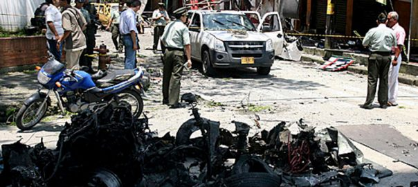 کولمبیا، مسلح افراد کا حملہ، خاتون صوبائی گورنر، 4 محافظ ہلاک، بگوٹا، 92 نیوز