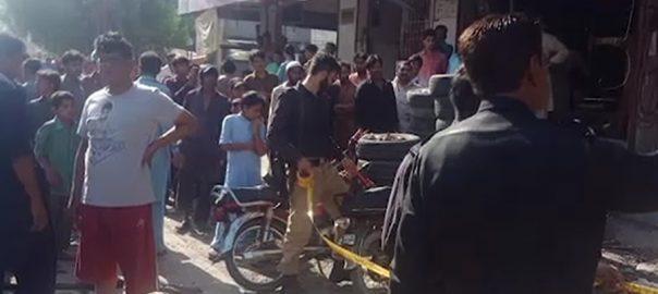 ڈیفنس خیابان بدر  کمپریسر پھٹ گیا پانچ افراد زخمی  کراچی  92 نیوز  ایس ایس پی ساؤتھ شیراز نذیر