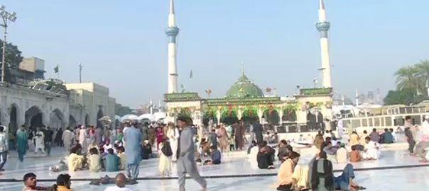 حضرت داتا گنج بخش علی ہجویریؒ ، 976 ویں ، عرس مبارک ، دوسرا روز، روحانی ، محفل ، جاری