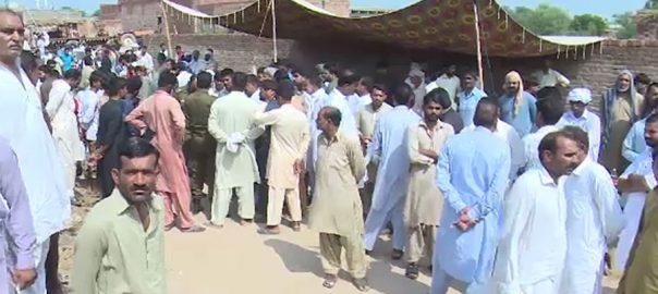 فیصل آباد ، بدفعلی ، قتل ، 8 سالہ ، سعد ، نماز جنازہ ، ادا