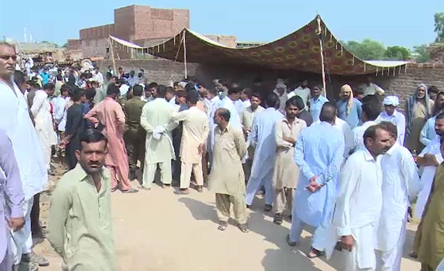 فیصل آباد میں بدفعلی کے بعد قتل 8 سالہ سعد کی نماز جنازہ ادا