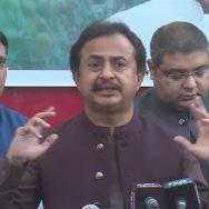 آزادی مارچ، ڈاکوؤں کا آزادی مارچ، حلیم عادل شیخ، کراچی، پریس کانفرنس، 92 نیوز