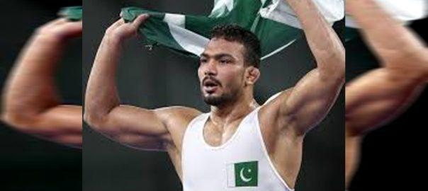 انعام بٹ  قطر  زور آزمائیں گے  92 نیوز پاکستانی ریسلر