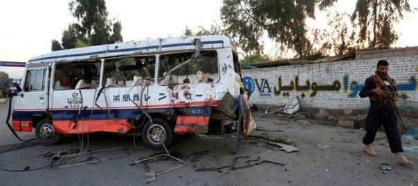 جلال آباد، فوجی گاڑی، دھماکے، اہلکاروں، 10 جاں بحق، 92 نیوز
