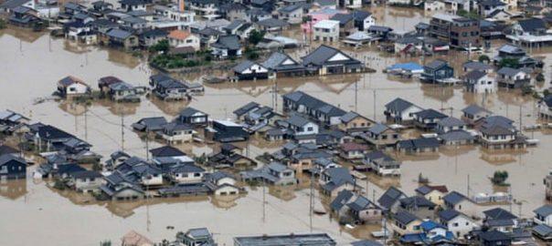 سمندری طوفان ہاجی بس، ٹوکیو ، ٹکرا گیا، ہلاکتیں 5 ہوگئیں، 90 سے زائدزخمی،92 نیوز
