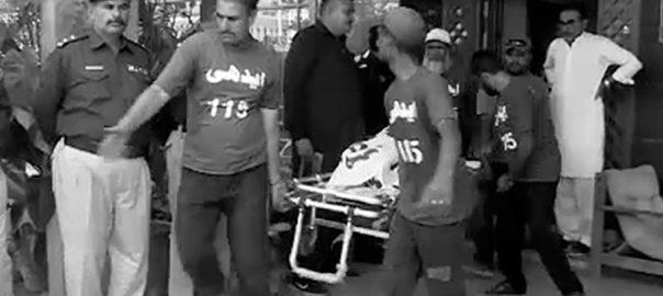 کلفٹن گھر باپ اور بیٹے لاشیں برآمد کراچی  92 نیوز 