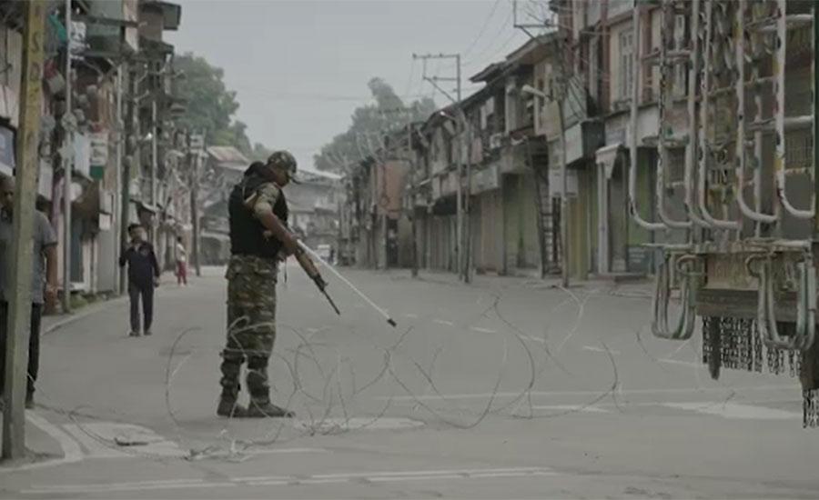 مقبوضہ کشمیر میں کرفیو اور پابندیوں کو 88 روز ہو گئے