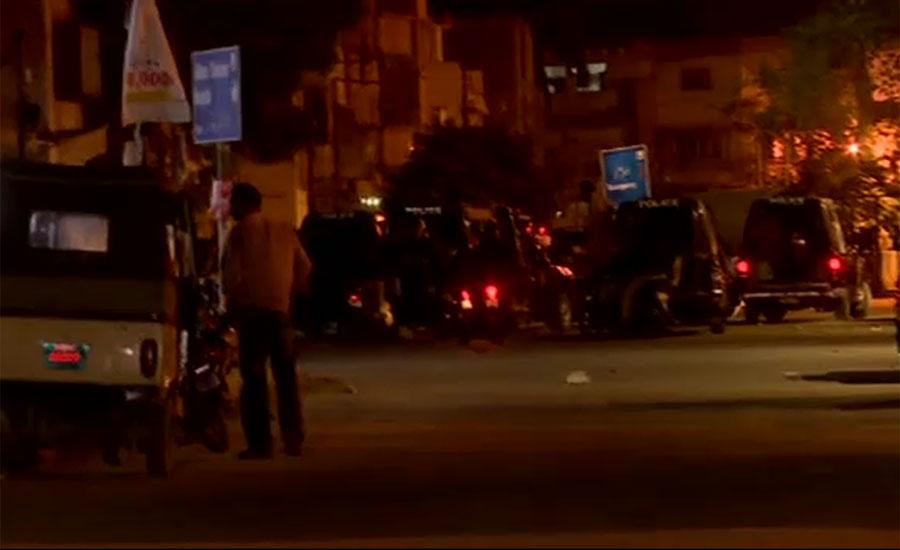 کراچی پولیس کا عباسی شہید اسپتال میں چھاپہ ، کمپیوٹر ہارڈ ڈرائیوز قبضے میں لے لیں
