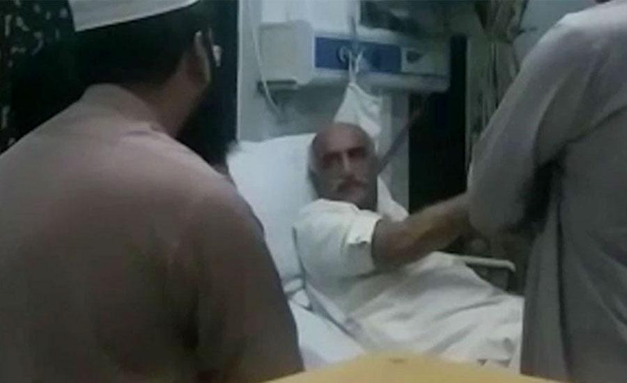 عارضہ قلب میں مبتلا خورشید شاہ کا طبی معائنہ، حالت تسلی بخش قرار